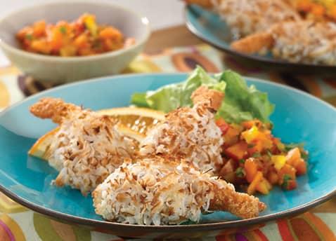 Crunchy Coconut Butterfly Shrimp Recipe