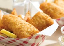 New England Frozen Fish and Chips