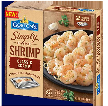 Simply Bake Shrimp Scampi