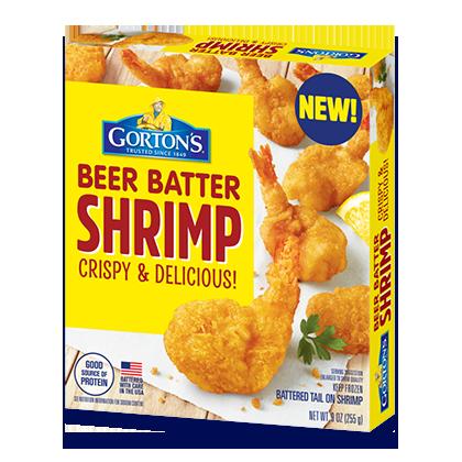 Crispy Beer Batter Shrimp