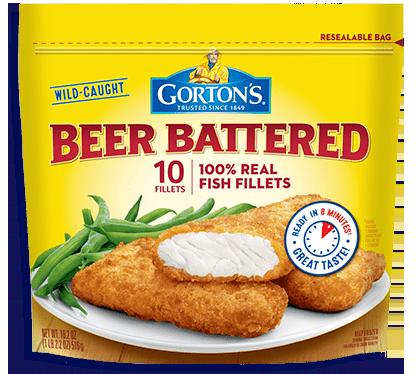 Beer Battered Fish Gorton S Seafood