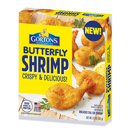 Crunchy Butterfly Shrimp Gorton S Seafood