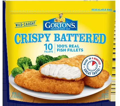 Gorton fish fillets microwave for Fish stick sandwich