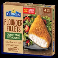 Gorton's Seafood Flounder Fillets