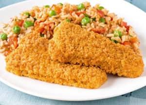 Spanish Style Fish and Rice