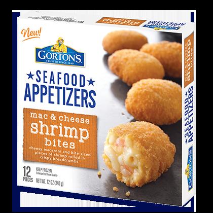 Mac & Cheese Shrimp Bites