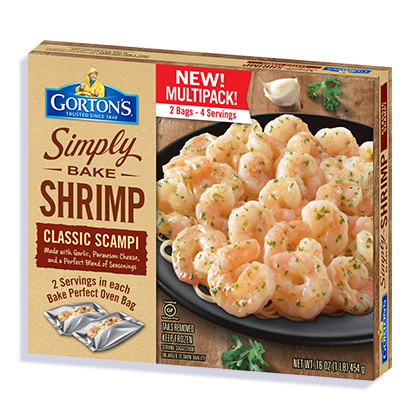 Simply Bake Multipack Shrimp Scampi