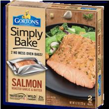 Simply Bake Salmon