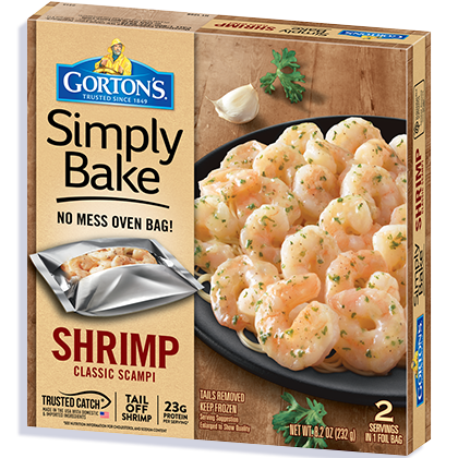 Simply Bake Shrimp Scampi